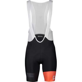 POC Essential Road VPDs Bib Shorts Heren, uranium black/hydrogen white